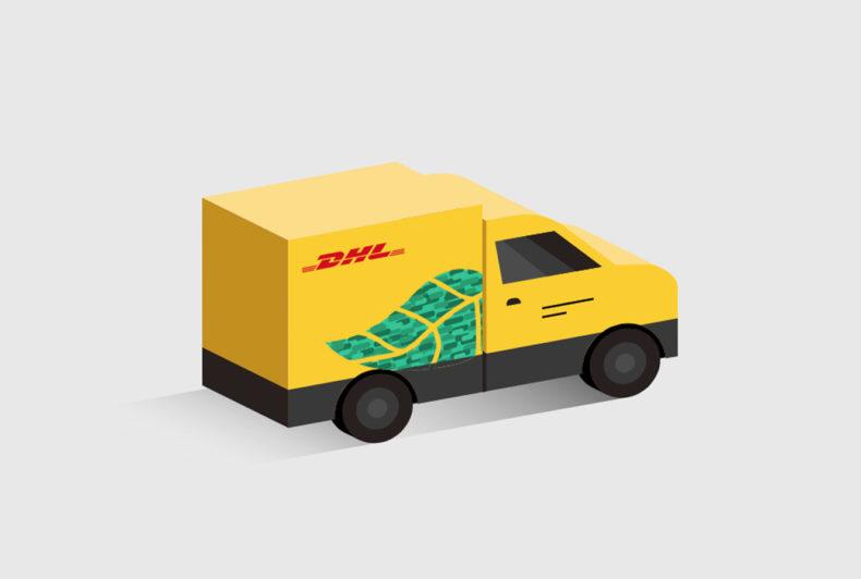 Strak in het pak voor DHL Parcel