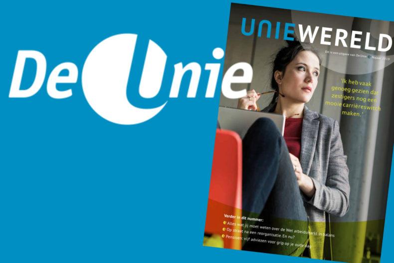 Vlotte vakbondtaal voor magazine Uniewereld