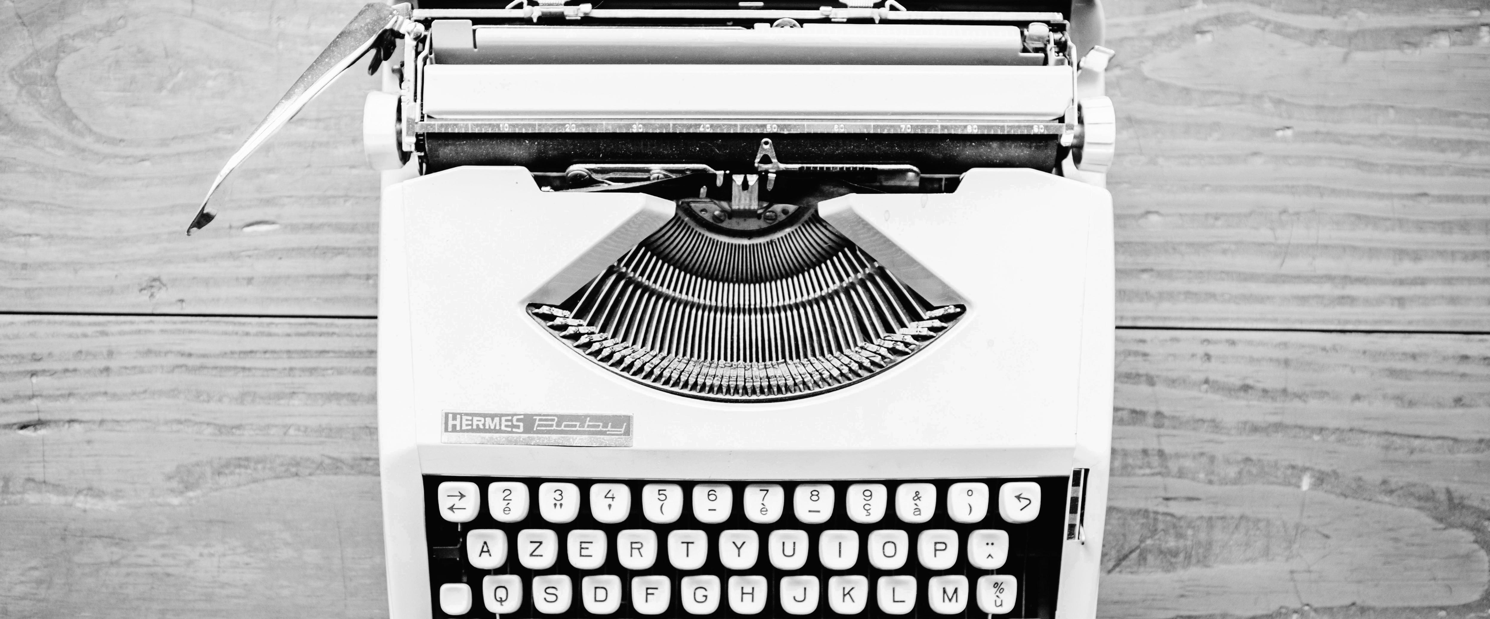 tekstschrijver-amsterdam-typemachine